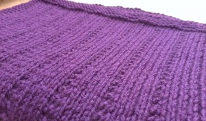 Quiet Ribbed Scarf