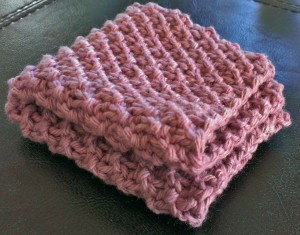 Mossy Dishcloth