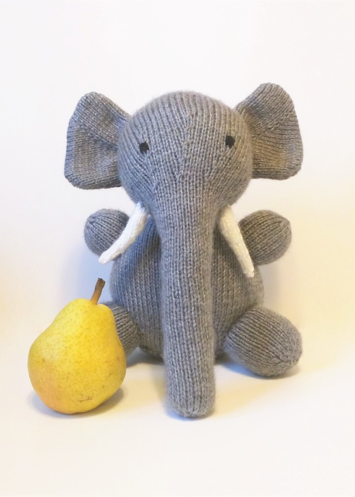 Knit Elephant - WIP Wednesday